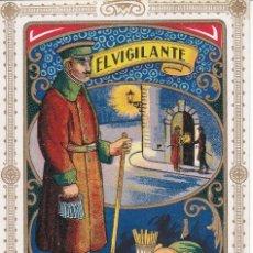 Cartes Postales: POSTAL DE FELICITACION DE EL VIGILANTE LES DESEA FELICES PASCUAS (NAVIDAD-CHRISTMAS). Lote 225587405