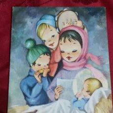 Cartes Postales: DIPTICO NAVIDAD. EDICIONES SUBI 10460/4. Lote 225894820