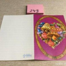 Postales: POSTAL - FELICITACIONES NAVIDAD. Lote 227775490