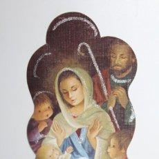 Postales: POSTAL DE NAVIDAD CALENDARIO O ALMANAQUE - AÑO 1984. Lote 228478720