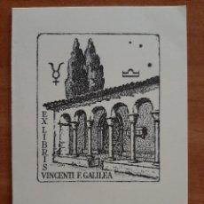 Postales: POSTAL NAVIDAD - IMAGEN DE UN EX LIBRIS. Lote 230155350