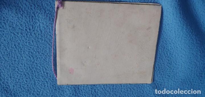 Postales: TARJETA POSTAL NAVIDAD *M. DE OLAÑETA*, - ESPANTANDO AL PAVO - PINTADA A MANO. - Foto 2 - 231027545
