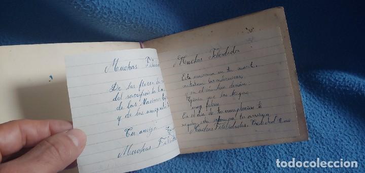 Postales: TARJETA POSTAL NAVIDAD *M. DE OLAÑETA*, - ESPANTANDO AL PAVO - PINTADA A MANO. - Foto 4 - 231027545