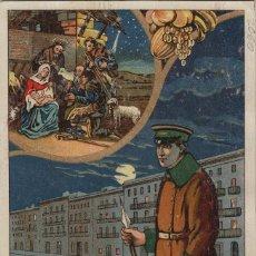 Postales: VIGILANTE / EL VIGILANT AÑO 1946 - TARJETA FELICITACION NAVIDAD-PASCUAS ,OFICIOS .. Lote 234763265