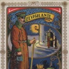 Postales: VIGILANTE / EL VIGILANT BARRIO - TARJETA FELICITACION NAVIDAD-PASCUAS ,OFICIOS .. Lote 234765380