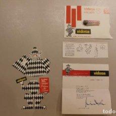 Postales: VIDOSA, FELICICITACIÓN NAVIDAD TROQUELADA, 1969. Lote 236996575