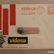 Postales: VIDOSA, FELICICITACIÓN NAVIDAD TROQUELADA, 1969, SOBRE SIN ABRIR. Lote 236996785