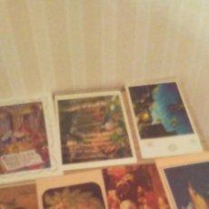 Postales: LOTE POSTALES NAVIDEÑAS ,AÑOS 70-80-90,CIRCULADAS .. Lote 241069250