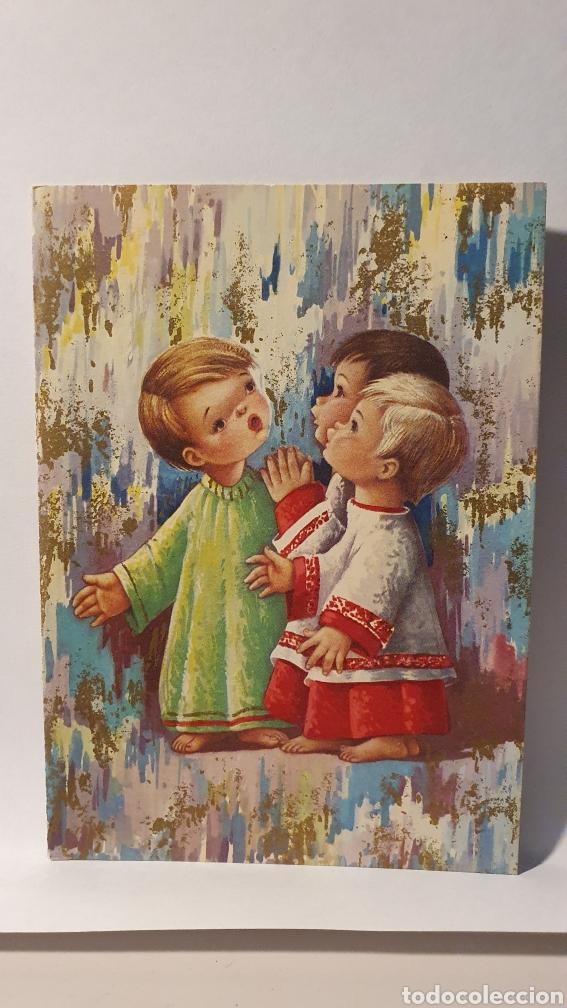 FELICITACIÓN NAVIDAD Y AÑO NUEVO/ 9,5×13,5 /(REF.1.FELICITACIONES) (Postales - Postales Temáticas - Navidad)