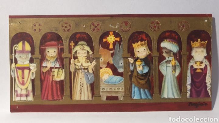 FELICITACIÓN NAVIDAD Y AÑO NUEVO/ FERRÁNDIZ/ 7×14,5 / ESCRITA /(REF.1.FELICITACIONES) (Postales - Postales Temáticas - Navidad)