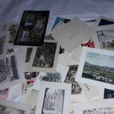 Postales: MAGNIFICO LOTE DE 60 ANTIGUAS TARJETAS DE FELICITACIÓN DE NAVIDAD DIFERENTES AÑOS 40/50/60. Lote 247630980