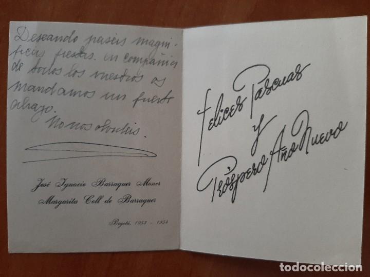Postales: 1953-54 POSTAL NAVIDEÑA COLOMBIANA - Foto 2 - 248995625