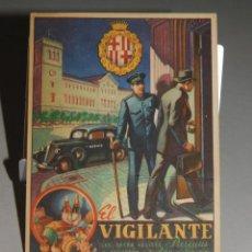 Postales: FELICITACIÓN DE NAVIDAD DE *EL VIGILANTE*, TEXTO EN EL DORSO. 13 X 9,5 CM. 2 FOTOS. Lote 262722820