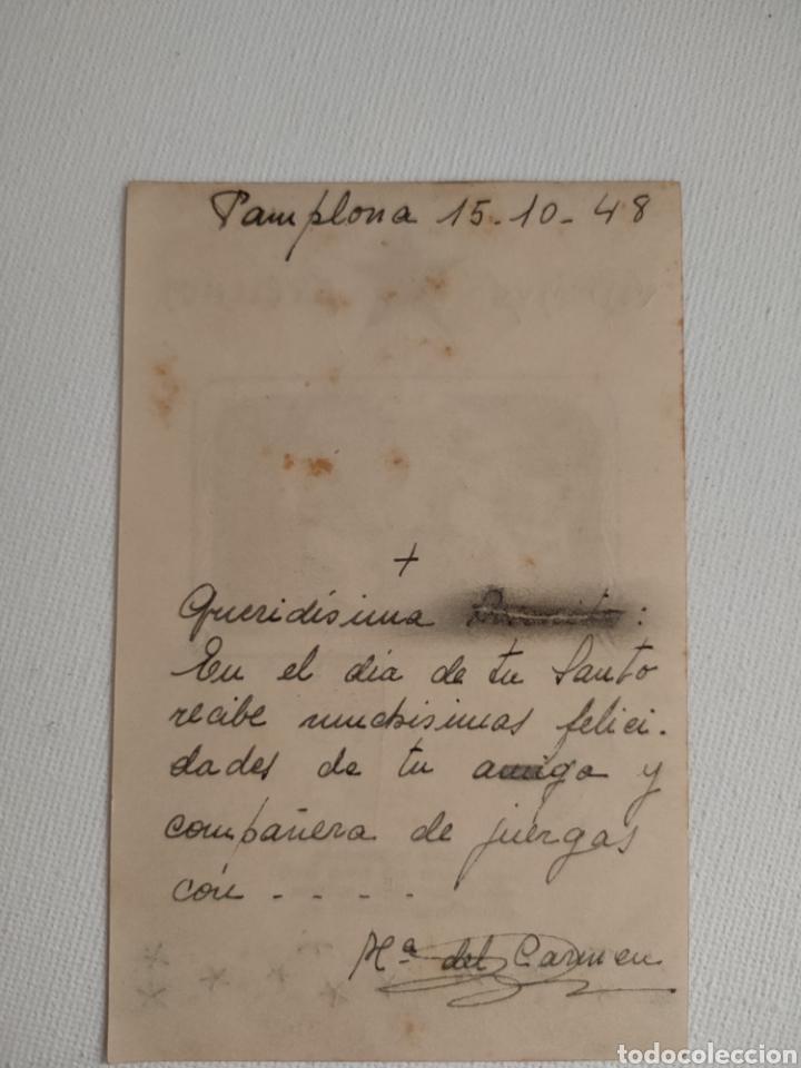 Postales: Estampa del nacimiento. Aproximadamente de 1948. - Foto 2 - 253446380