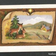 Postales: FELICITACION NAVIDAD CIRCULADA EDITA J.B.R 673. Lote 254121935