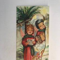 Postales: FELICITACIÓN NAVIDEÑA TROQUELADA, ILUSTRA GIRONA, DEDICADA.. (NAVIDAD DE 1963). Lote 254210670