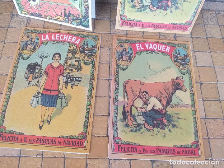 Postales: LOTE 4 FELICITACIONES DE NAVIDAD ANTIGUAS DIBUJOS DE RICARDO OPISSO - EN PERFECTO ESTADO - Foto 2 - 254456415
