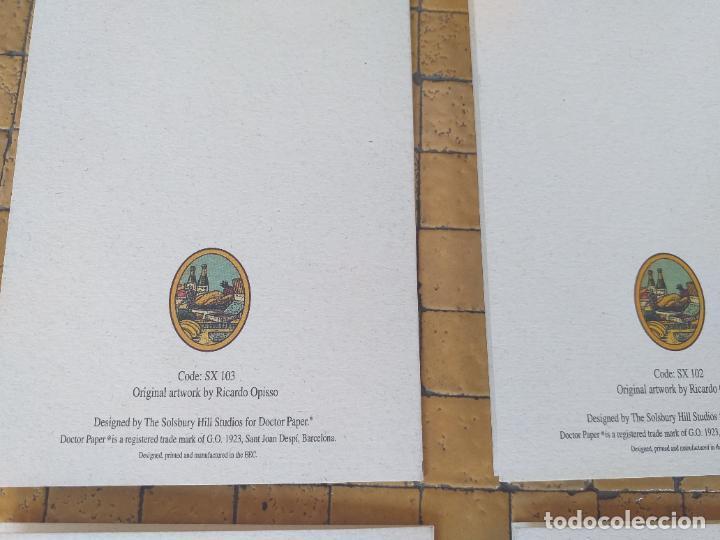 Postales: LOTE 4 FELICITACIONES DE NAVIDAD ANTIGUAS DIBUJOS DE RICARDO OPISSO - EN PERFECTO ESTADO - Foto 6 - 254456415