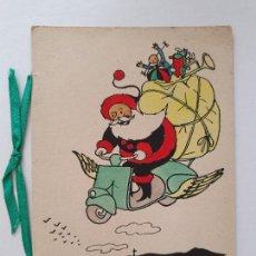Postales: FELICITACIÓN DE NAVIDAD - PAPÁ NOEL - FN1. Lote 257433465
