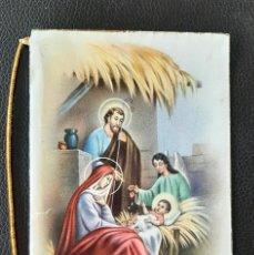 Postales: POSTAL DE NAVIDAD D 33 CON RIBETE DORADO. Lote 257473000