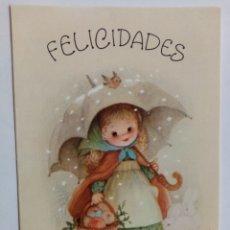 Postales: FELICITACIÓN NAVIDEÑA - MARTA RIBAS - EDICIONES SABADELL BETLEM. Lote 262461665