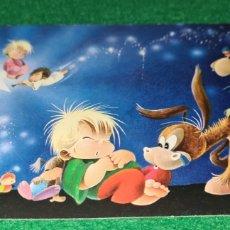 Cartoline: PRECIOSA POSTAL DE NAVIDAD. GABRIEL. CYZ . SIN ESCRIBIR . DIPTICO.. Lote 262899585