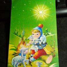 Cartoline: FELICITACION NAVIDAD NIUBÓ * PASTOR CON SUS OVEJITAS * 1961. Lote 263187155