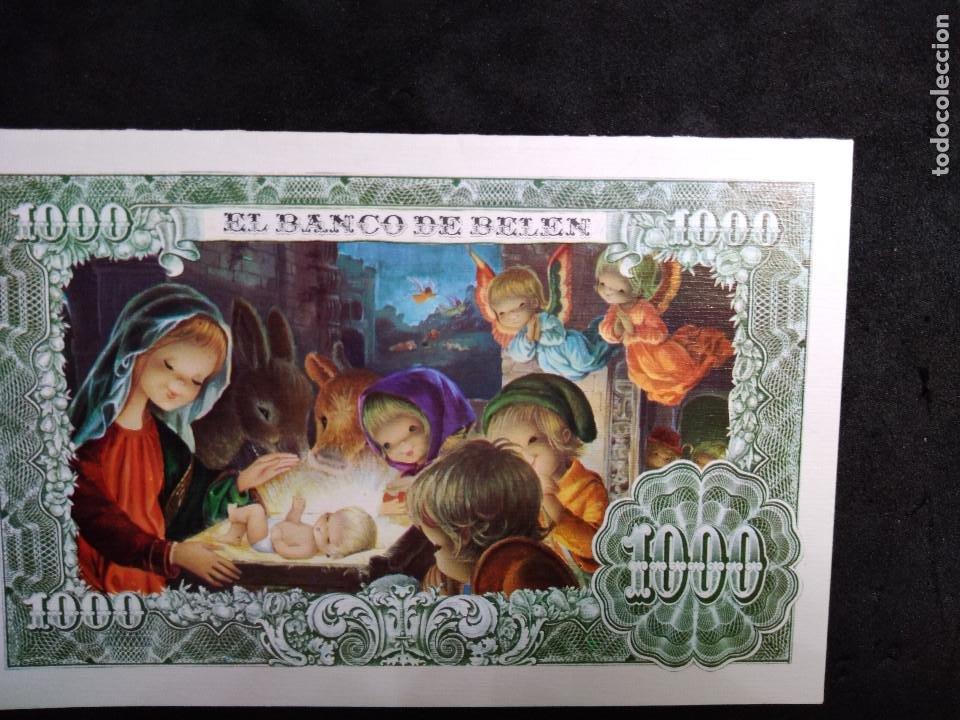 FELICITACION NAVIDAD VERNET * EL BANCO DE BELÉN * 1971 (Postales - Postales Temáticas - Navidad)