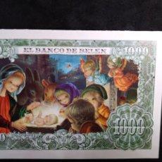 Postales: FELICITACION NAVIDAD VERNET * EL BANCO DE BELÉN * 1971. Lote 263189595