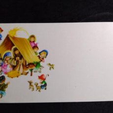 Cartoline: TARJETA NAVIDAD ROSER PUIG * NACIMIENTO EN EL ESTABLO * 1975. Lote 263275845