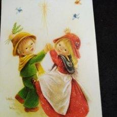 Cartoline: FELICITACION NAVIDAD CRISTINA * PAREJA BAILANDO * VIKINGO 1979. Lote 263299495