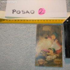 Postales: OFERTAS X LOTES FELICITACION NAVIDADEÑA POSTALES NAVIDAD CHRISTMAS. DECORACION PORTAL BELEN SENCILLO. Lote 281022163