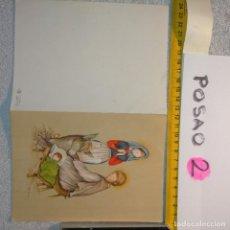 Postales: OFERTAS X LOTES FELICITACION NAVIDADEÑA POSTALES NAVIDAD Ó CHRISTMAS. DECORACION PORTAL BELEN. Lote 263611285