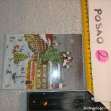 Postales: OFERTAS X LOTES FELICITACION NAVIDADEÑA POSTALES NAVIDAD Ó CHRISTMAS. DECORACION PORTAL BELEN. Lote 263611350