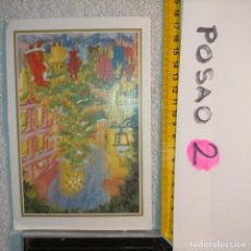 Postales: OFERTAS X LOTES FELICITACION NAVIDADEÑA POSTALES NAVIDAD Ó CHRISTMAS. DECORACION PORTAL BELEN. Lote 263611395