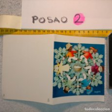 Postales: OFERTAS X LOTES FELICITACION NAVIDADEÑA POSTALES NAVIDAD Ó CHRISTMAS. DECORACION PORTAL BELEN. Lote 263611445