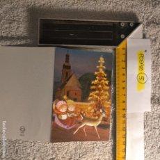 Postales: OFERTAS X LOTES FELICITACION NAVIDADEÑA POSTALES NAVIDAD Ó CHRISTMAS. DECORACION PORTAL BELEN. Lote 263800265