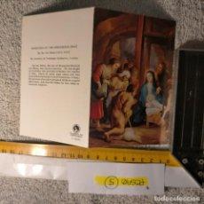 Postales: OFERTAS X LOTES FELICITACION NAVIDADEÑA POSTALES NAVIDAD Ó CHRISTMAS. DECORACION PORTAL BELEN. Lote 263800350