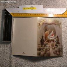 Postales: OFERTAS X LOTES FELICITACION NAVIDADEÑA POSTALES NAVIDAD Ó CHRISTMAS. DECORACION PORTAL BELEN. Lote 263800360