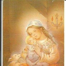Postales: FELICITACION NAVIDAD *Mª ROSA GARCIA* - ED. CYZ 1387/141 - DIPTICA, (15,5X8,5 CM) AÑO 1989. Lote 263801955