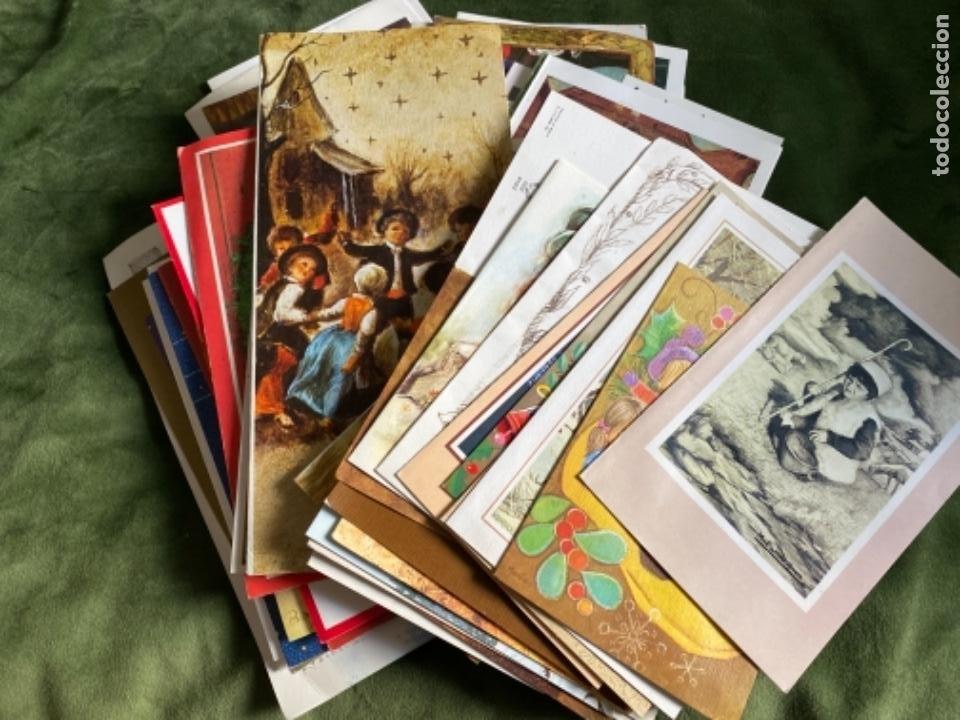 LOTE FELICITACIONES NAVIDEÑAS AÑOS 90 (Postales - Postales Temáticas - Navidad)