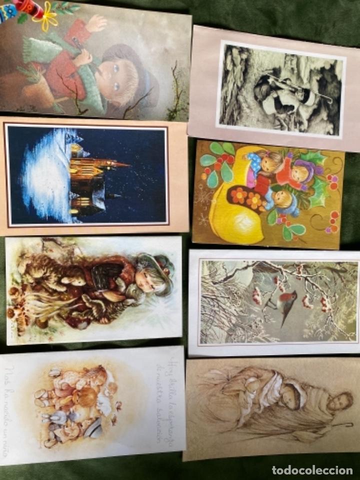 Postales: LOTE FELICITACIONES NAVIDEÑAS AÑOS 90 - Foto 2 - 263882625