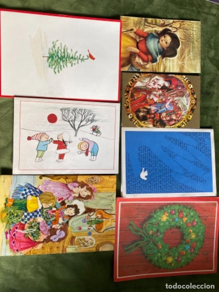 Postales: LOTE FELICITACIONES NAVIDEÑAS AÑOS 90 - Foto 3 - 263882625