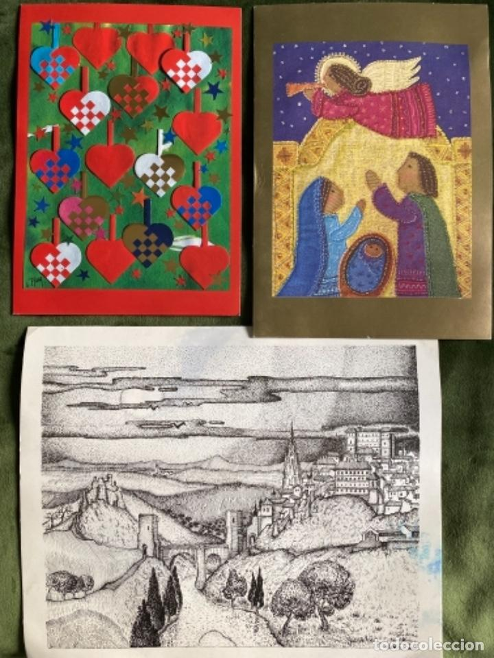 Postales: LOTE FELICITACIONES NAVIDEÑAS AÑOS 90 - Foto 5 - 263882625