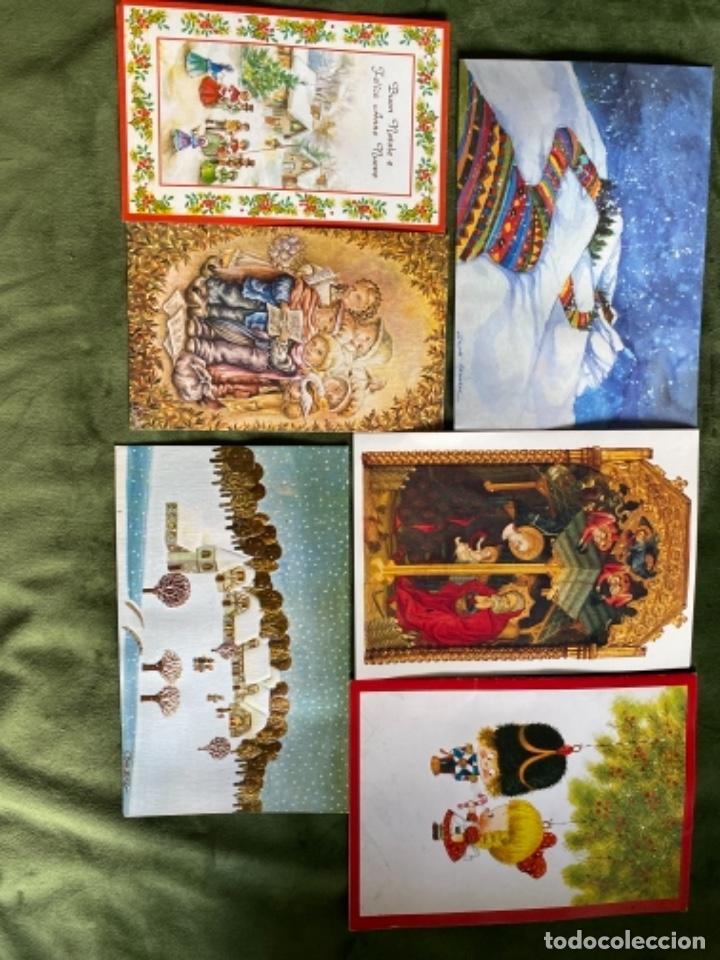Postales: LOTE FELICITACIONES NAVIDEÑAS AÑOS 90 - Foto 6 - 263882625