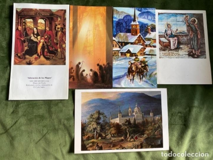 Postales: LOTE FELICITACIONES NAVIDEÑAS AÑOS 90 - Foto 7 - 263882625