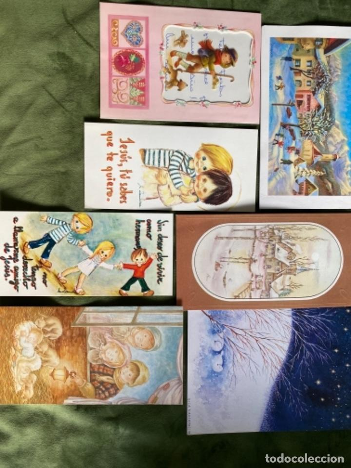 Postales: LOTE FELICITACIONES NAVIDEÑAS AÑOS 90 - Foto 8 - 263882625