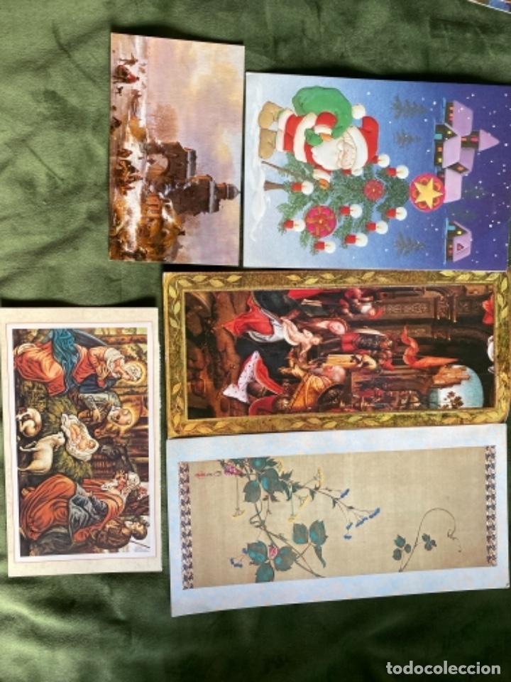 Postales: LOTE FELICITACIONES NAVIDEÑAS AÑOS 90 - Foto 9 - 263882625