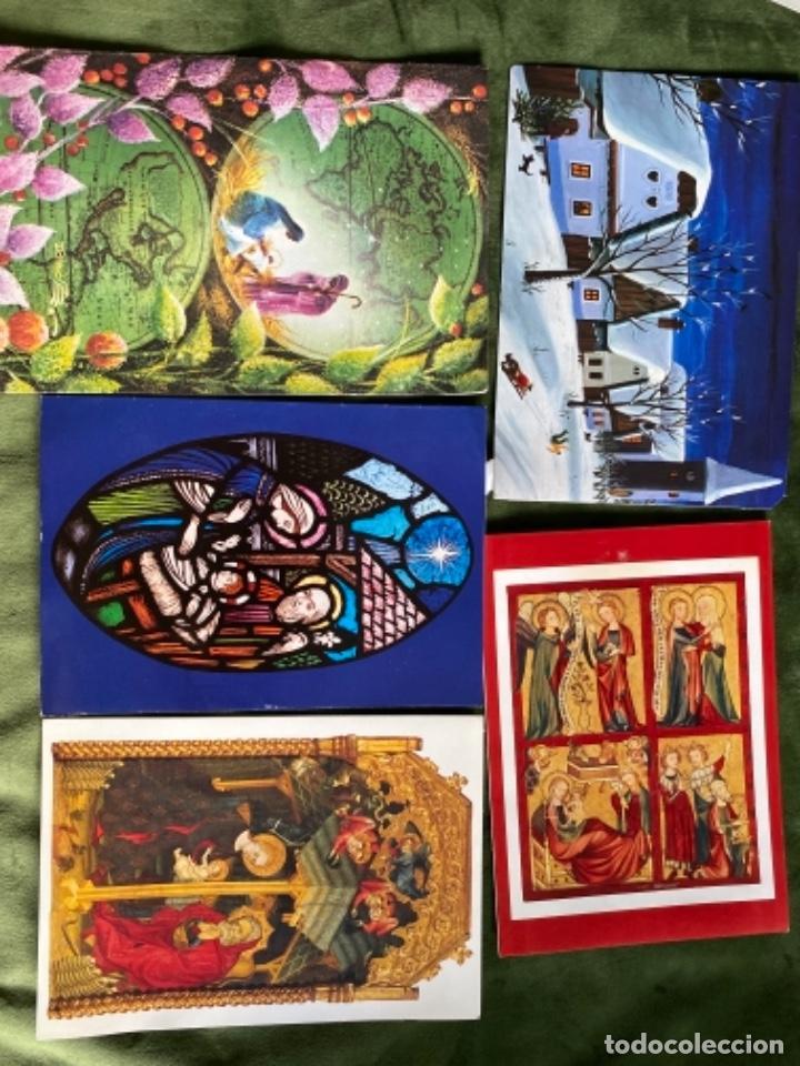 Postales: LOTE FELICITACIONES NAVIDEÑAS AÑOS 90 - Foto 11 - 263882625