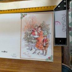 Postales: OFERTAS X LOTES FELICITACION NAVIDADEÑA POSTALES NAVIDAD Ó CHRISTMAS. DECORACION PORTAL BELEN. Lote 264570039